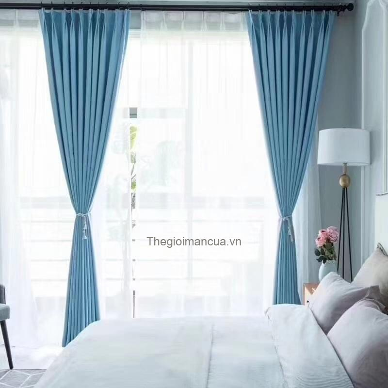 Vải may rèm cửa Hàn Quốc