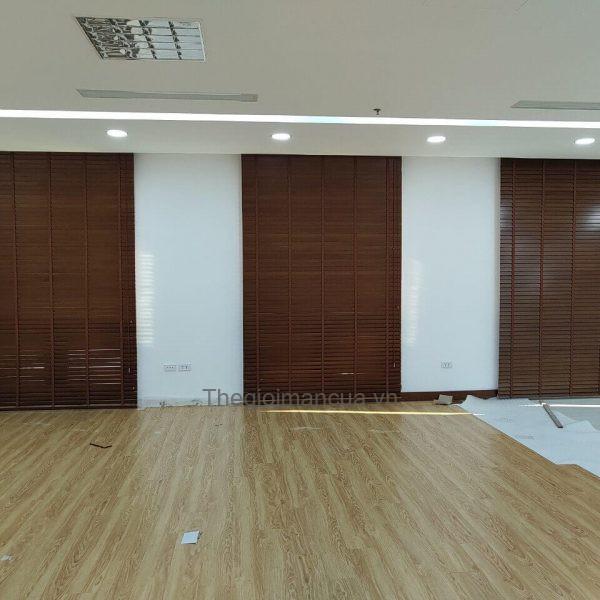 Rèm gỗ Vietcombank